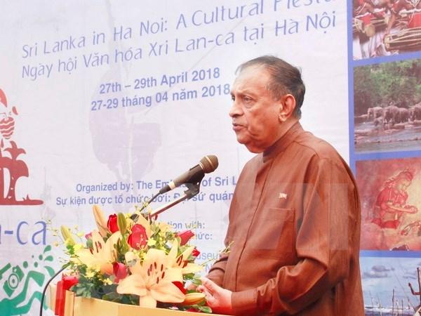 Comienza en Hanoi el Dia Cultural de Sri Lanka hinh anh 1