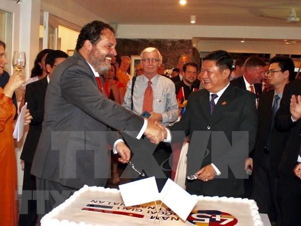 Conmemoran en Ciudad Ho Chi Minh el 45 aniversario de nexos diplomaticos Vietnam-Paises Bajos hinh anh 1