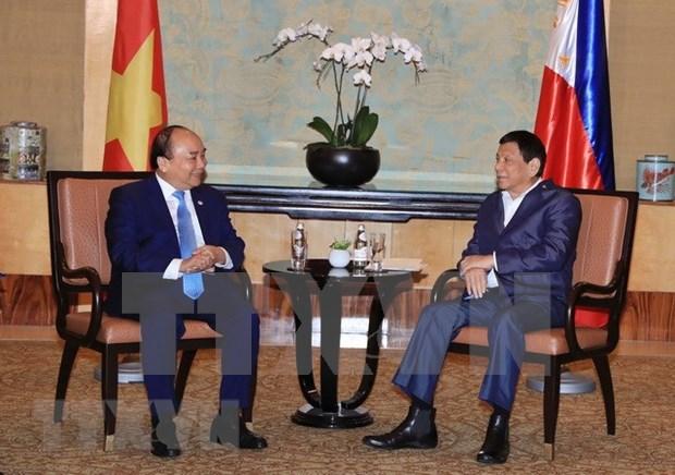 Vietnam y Filipinas debaten medidas destinadas a agilizar cooperacion multifacetica hinh anh 1