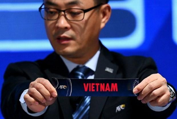 Vietnam topara con Iran, Indonesia y la India en Campeonato Asiatico de Futbol hinh anh 1
