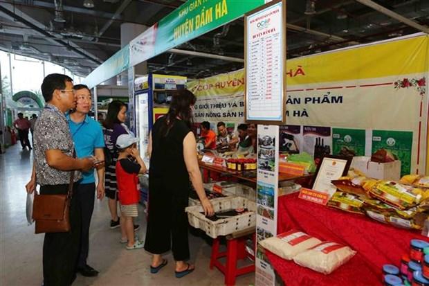 "Quang Ninh: nutrida participacion en feria ""Cada comuna, cada producto"" hinh anh 2"