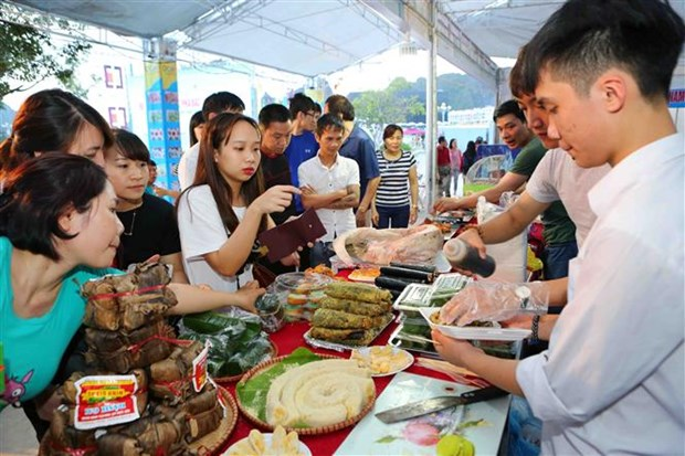 "Quang Ninh: nutrida participacion en feria ""Cada comuna, cada producto"" hinh anh 3"