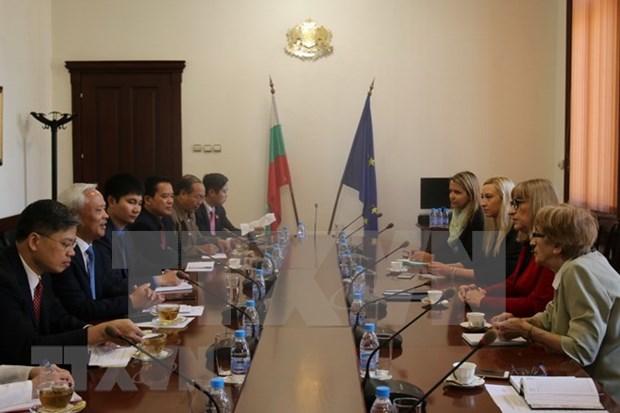 Vietnam y Bulgaria intensifican intercambio de experiencias en reforma judicial hinh anh 1