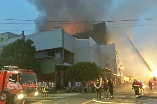 No reportan ninguna victima vietnamita en el incendio en Taiwan (China) hinh anh 1
