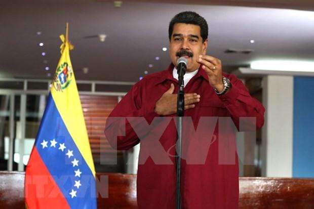 Nicolas Maduro felicita a Vietnam por aniversario de su liberacion hinh anh 1