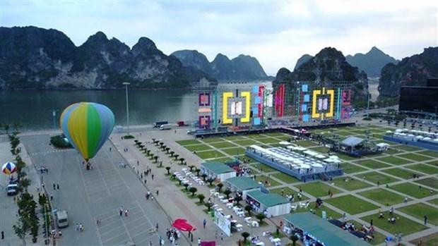 Turismo de Quang Ninh recibe a 530 mil viajeros en dias festivos hinh anh 1