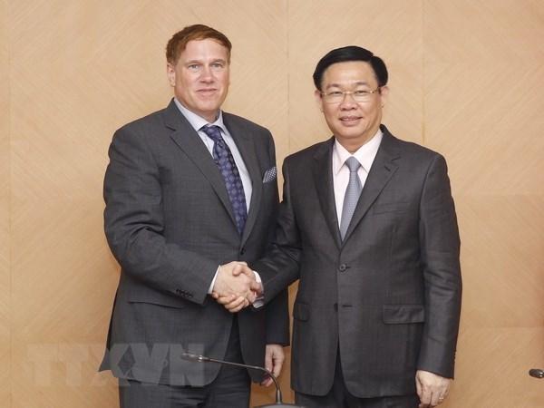 Vietnam promete apoyo para las empresas estadounidenses, afirma vicepremier hinh anh 1