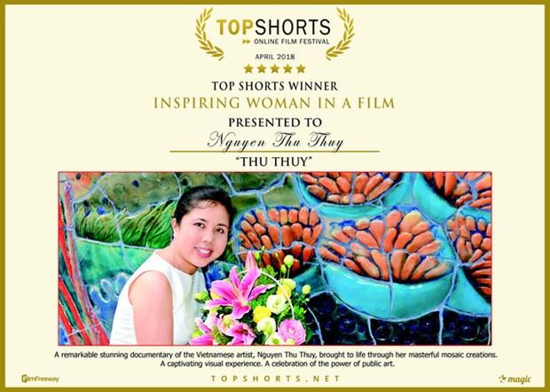 Vietnamita gana premios en Festival de cortometraje Top Shorts hinh anh 1