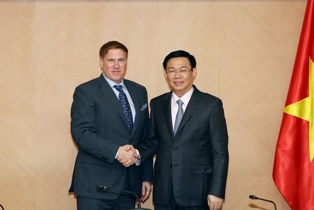 Gobierno vietnamita promete mayores garantias para empresas estadounidenses hinh anh 1
