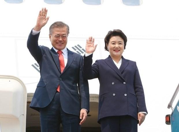 Sudcorea promueve desarrollo de grandes proyectos en Vietnam hinh anh 1