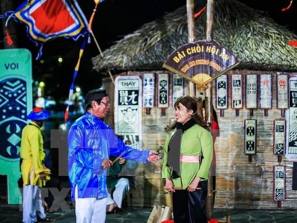 Reviven canto popular Bai Choi, Patrimonio Cultural Inmaterial de la Humanidad hinh anh 1