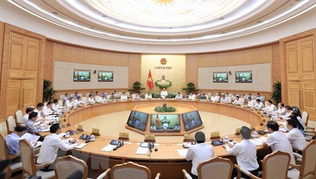 Gobierno vietnamita revisa situacion socioeconomica en primeros cuatro meses hinh anh 1