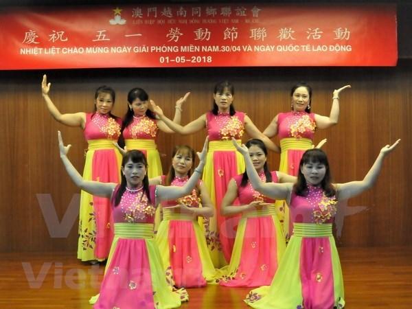 Comunidad vietnamita en Macao (China) celebra Dia de la Liberacion del Sur y Reunificacion Nacional hinh anh 1