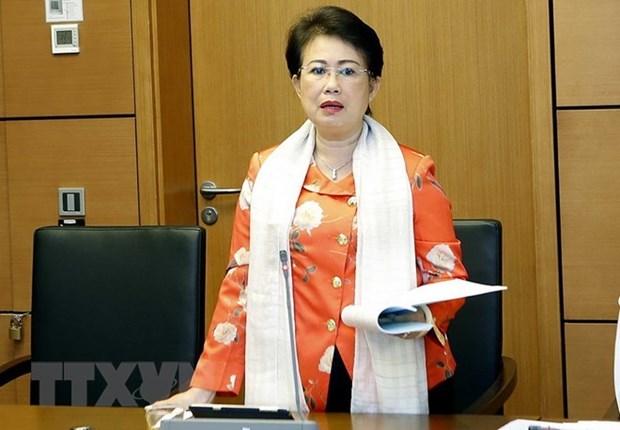 Militante vietnamita sancionada por violaciones en gestion economica hinh anh 1