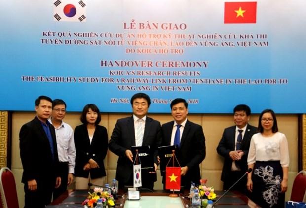 Linea ferroviaria entre Vietnam y Laos costara unos cinco mil millones de dolares hinh anh 1