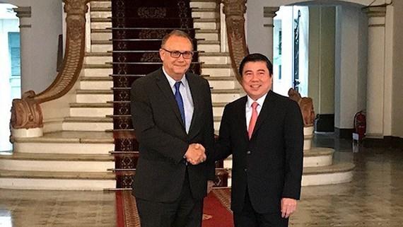 Ciudad Ho Chi Minh promete condiciones optimas para los inversores peruanos hinh anh 1