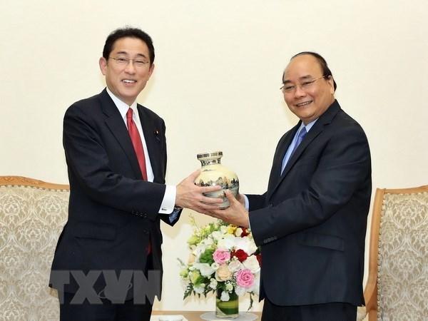 Vietnam atesora asociacion estrategica con Japon hinh anh 1