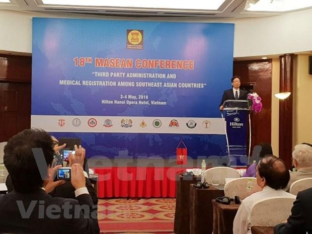 Vietnam asume la presidencia de la Asociacion Medica de Naciones del Sudeste Asiatico hinh anh 1