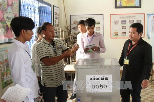 Camboya inicia campana de comunicacion para elecciones generales hinh anh 1
