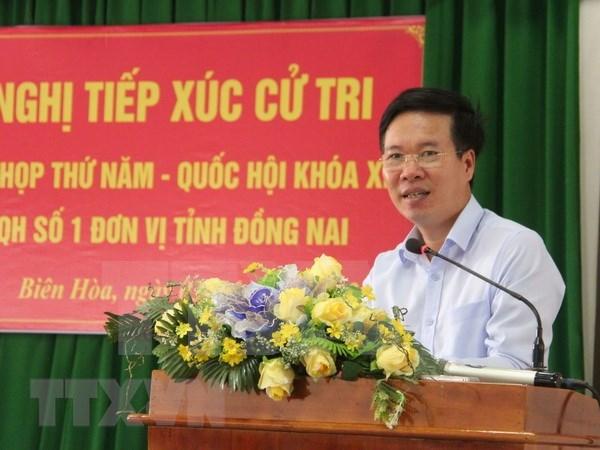 Electores vietnamitas aportan ideas en visperas del V periodo de sesiones parlamentarias hinh anh 1
