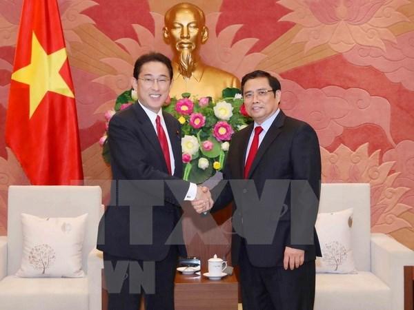 Destacan papel de lazos entre partidos gobernantes de Vietnam y Japon en fomento de nexos binacionales hinh anh 1
