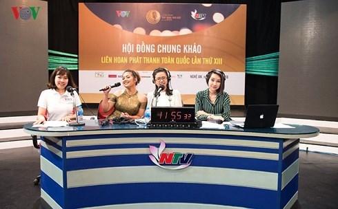 Concluye el XIII Festival de Radiodifusion de Vietnam hinh anh 1