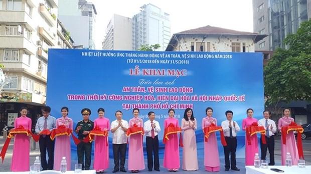 Comienza el Mes de Seguridad e Higiene Laboral en Ciudad Ho Chi Minh hinh anh 1