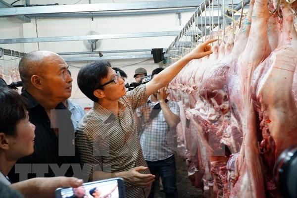 Exhortan al mejor control de calidad de alimentos en Ciudad Ho Chi Minh hinh anh 1