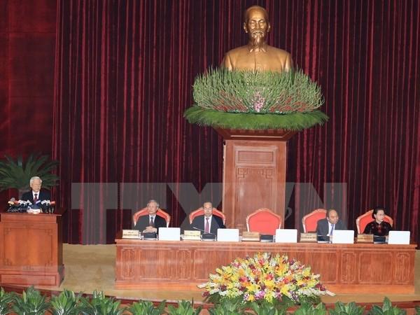Inicia septimo pleno del Comite Central del Partido Comunista de Vietnam hinh anh 1