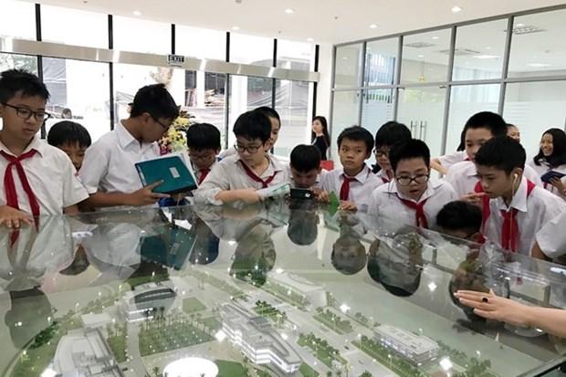 Escuelas vietnamitas se adhieren al programa Globe hinh anh 1