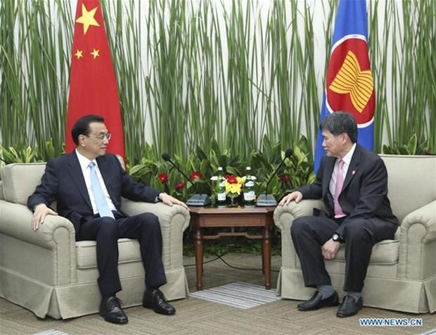 ASEAN y China por acelerar la firma de Asociacion Economica Integral Regional hinh anh 1