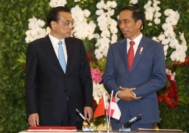 China e Indonesia buscan impulsar las relaciones comerciales hinh anh 1