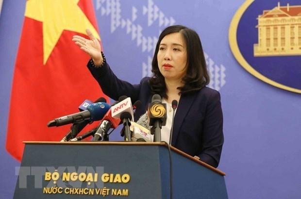 Vietnam insta a responsabilidad de China en asunto del Mar del Este hinh anh 1