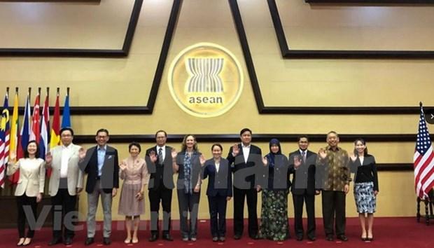ASEAN y Estados Unidos se comprometen a fortalecer la cooperacion bilateral hinh anh 1