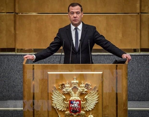 Vietnam envia felicitaciones al nuevo primer ministro de Rusia hinh anh 1