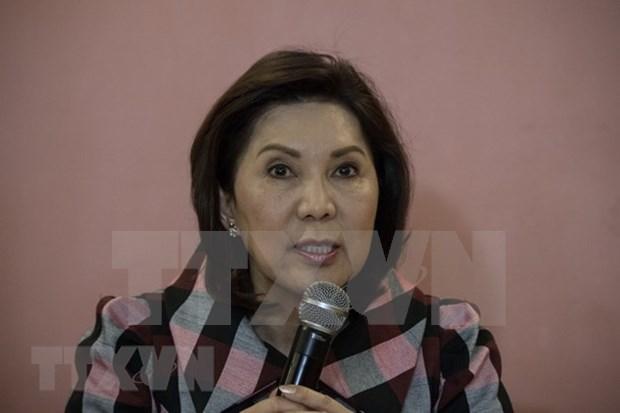 Ministra de Turismo de Filipinas renuncia por acusaciones de corrupcion hinh anh 1