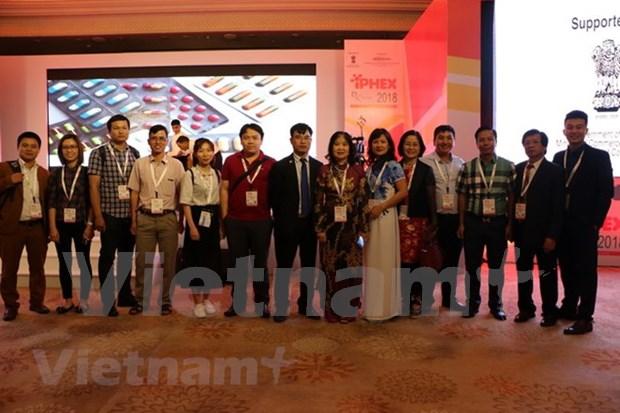 Vietnam asiste a exposicion farmaceutica y sanitaria en India hinh anh 1
