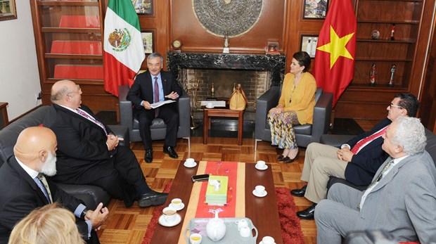 Partido del Trabajo de Mexico resalta relaciones con Vietnam hinh anh 3