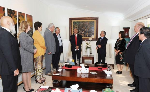 Partido del Trabajo de Mexico resalta relaciones con Vietnam hinh anh 1