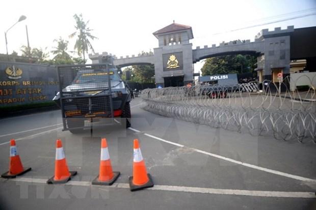 Presos terroristas se entregan tras operacion de policia en carcel indonesia hinh anh 1
