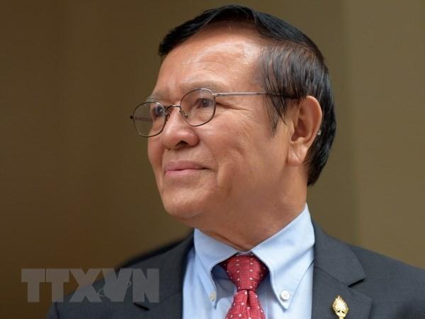 Tribunal camboyano mantiene sentencias contra miembros del partido opositor CNRP hinh anh 1