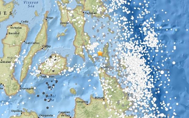 Sismo de magnitud 5,6 sacude Filipinas hinh anh 1