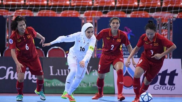 Vietnam eliminado del Campeonato Asiatico de Futsal tras caer ante Iran hinh anh 1