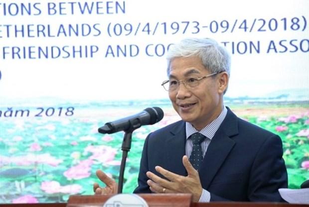Experimentan buenas relaciones multifaceticas Vietnam y Paises Bajos hinh anh 1