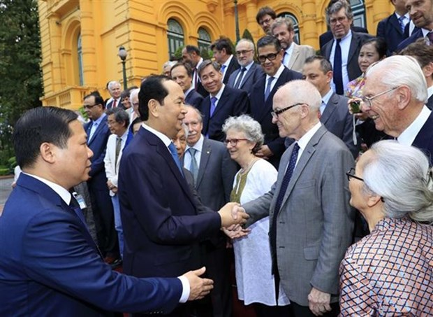Vietnam presta atencion al desarrollo de la ciencia, afirma presidente Dai Quang hinh anh 1