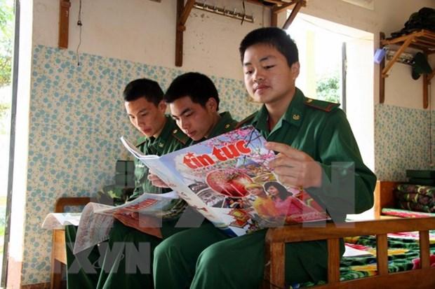 Presidente de Vietnam resalta funcion del periodico Tin Tuc de VNA en el desarrollo nacional hinh anh 1