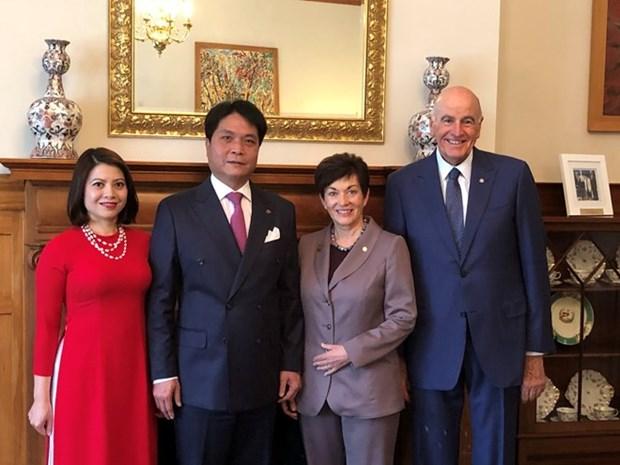 Nueva Zelanda respalda cooperacion por el desarrollo sostenible con Vietnam hinh anh 1