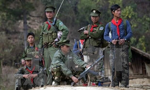 Myanmar: 19 muertos en enfrentamiento de rebeldes hinh anh 1