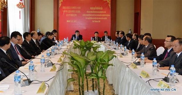 China y Laos intensifican cooperacion en lucha contra crimenes transfronterizos hinh anh 1