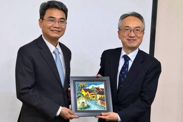 Agencia Japonesa de Patentes reafirma apoyo a Vietnam en proteccion de la propiedad industrial hinh anh 1